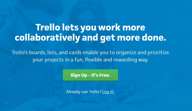 Trello, a visual collaboration tool