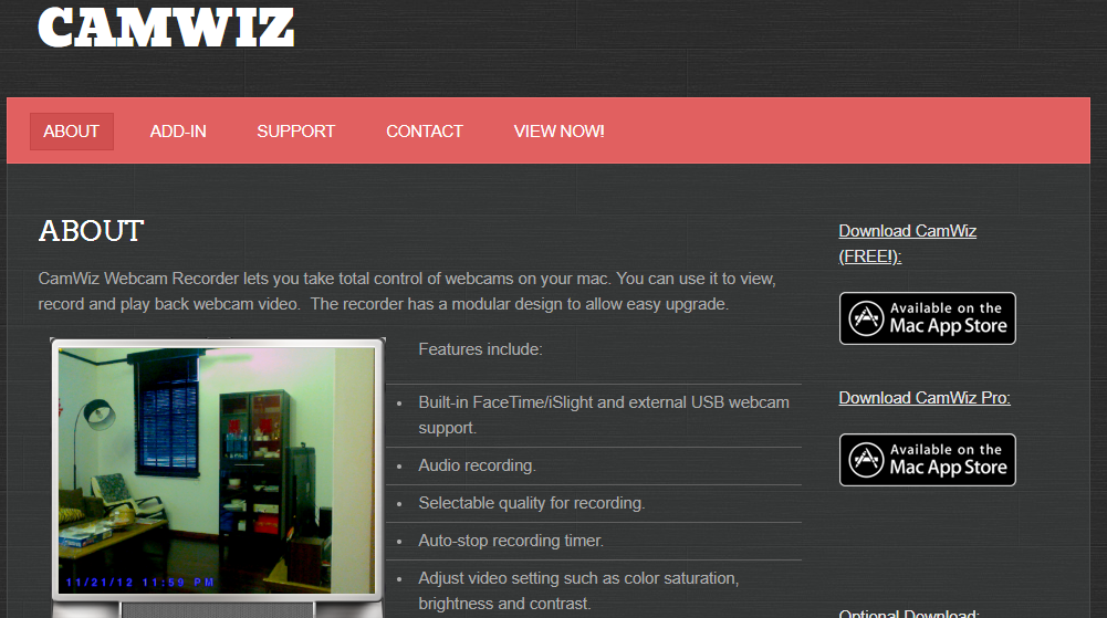 Camwiz WebCam Recorder