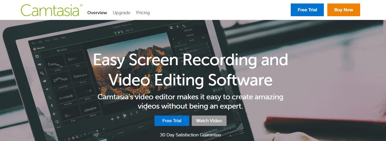 Camtasia - Screen Recording Software