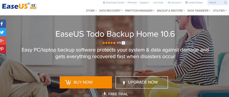 EASUS Tod Backup - Best Backup Software