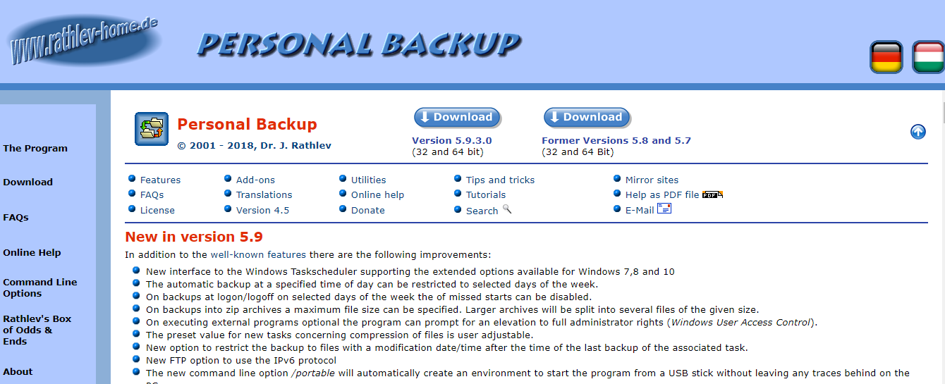 Best Free Backup Software for Windows in 2018: TTP