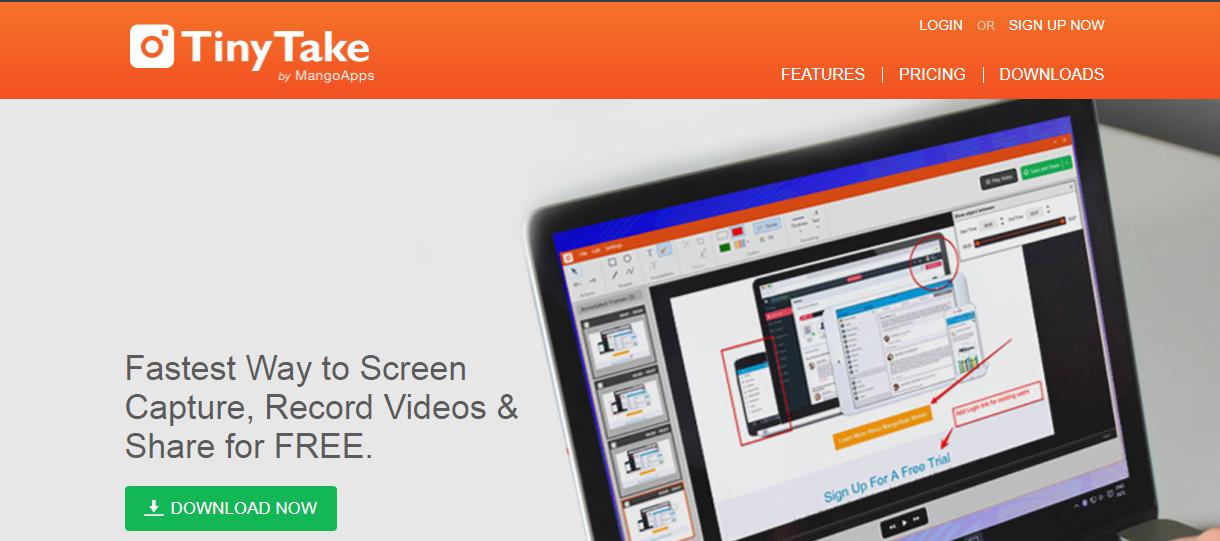 TinyTake - Screen Recording Software