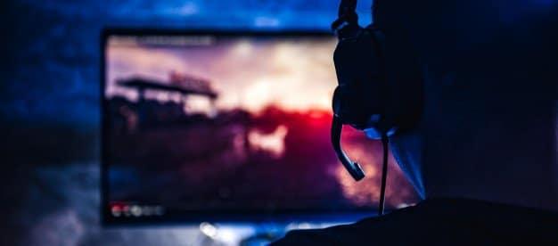 spy video games-men playing video game