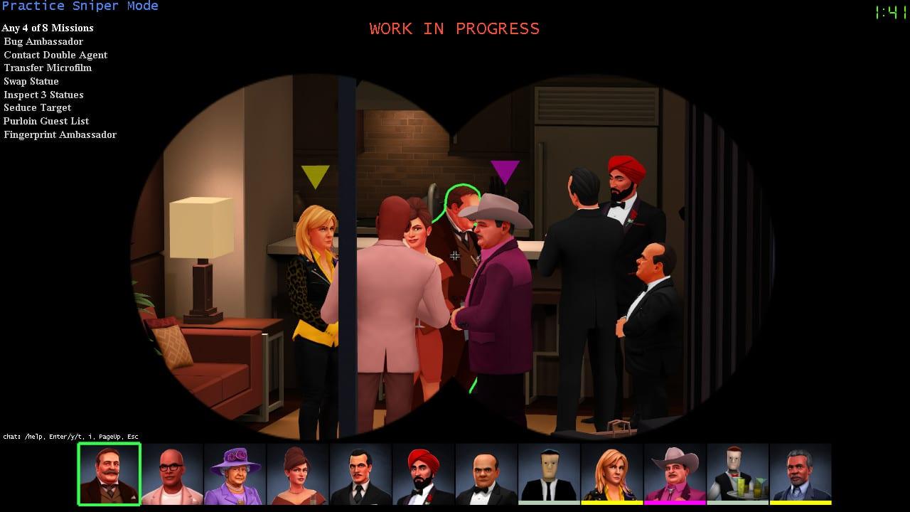 spy party- spy