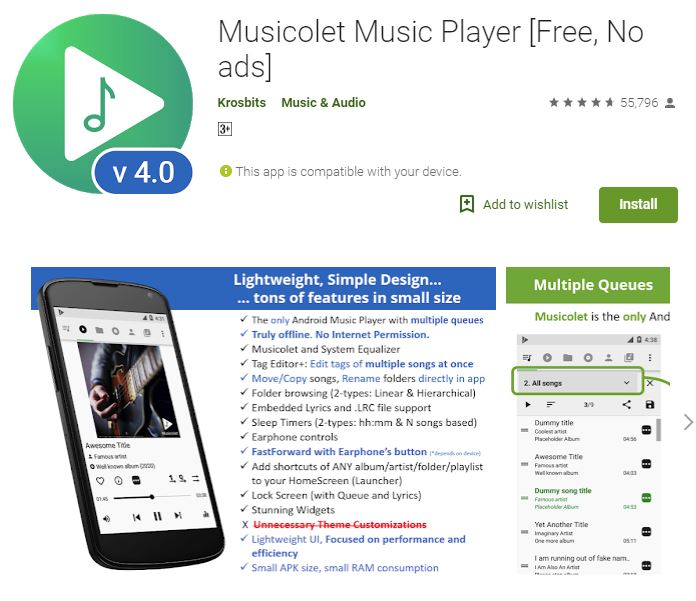 Musicolet Music Player