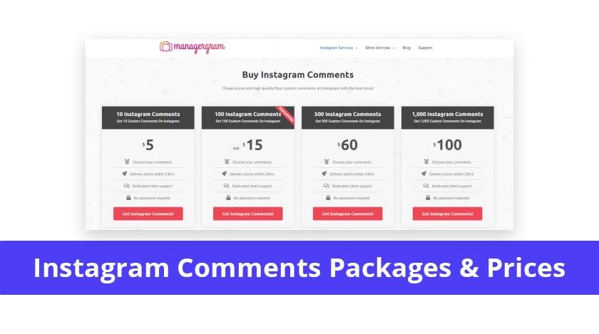 Social10x instagram comments price