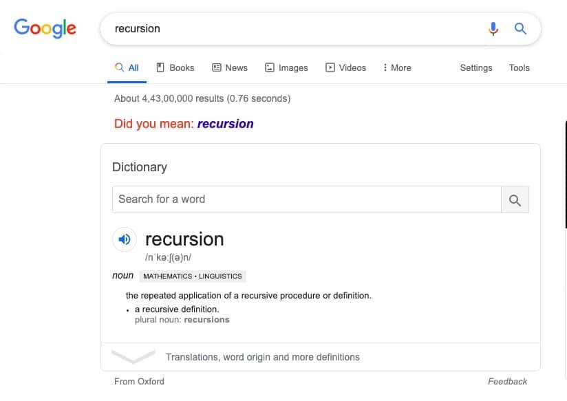 google is a word nerd