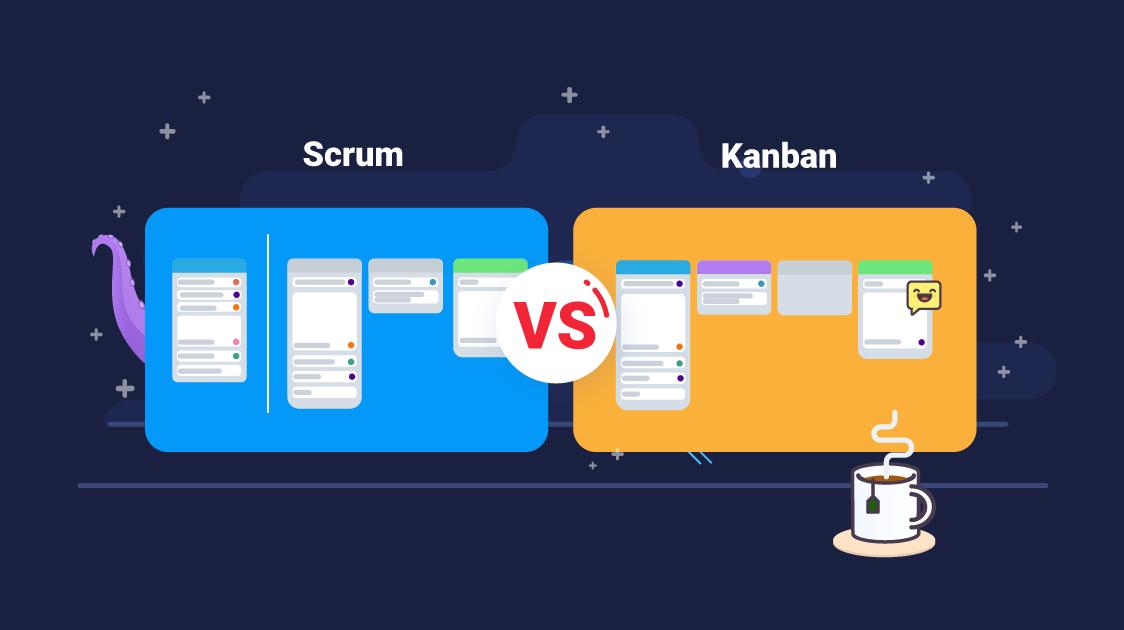 Scrum board vs. Kanban board