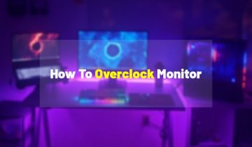 how to overclock a monitor