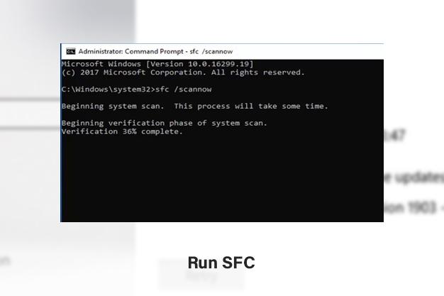 Run SFC