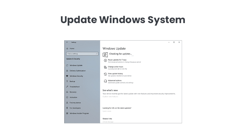 Update Windows System