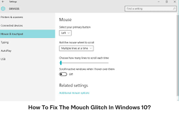 How To Fix The Mouch Glitch In Windows 10
