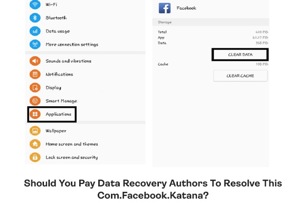 Should You Pay Data Recovery Authors To Resolve This Com.Facebook.Katana