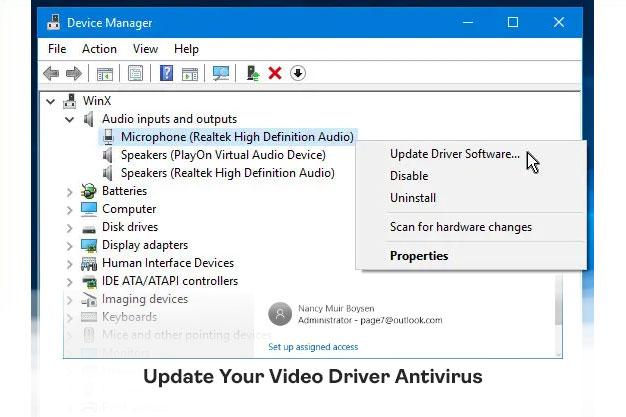 Update Your Video Driver Antivirus