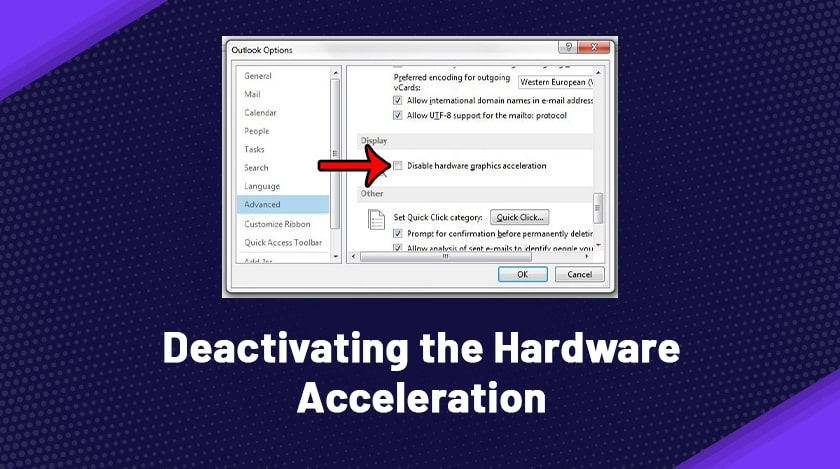Deactivating The Hardware Acceleration