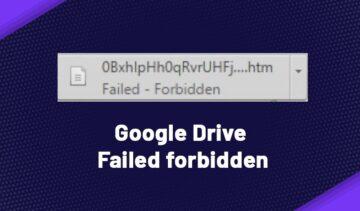 Failed forbidden